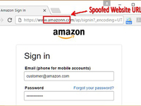 Esempio Phishing Amazon