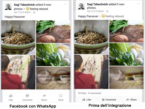 Facebook-WhatsApp-Integrazione